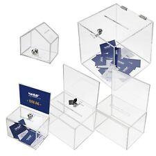 HMF Spendenboxen, Aktionsboxen, Spendenhaus, Spendendose ACRYL, versch. Modelle