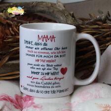 Tasse / MAMA, Danke -ich/ Geschenk Muttertag Weihnachten