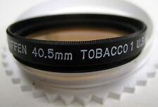 40.5mm Tiffen 40.5F Solid Tobacco 1 Filter 40.5 mm Filters