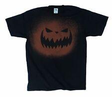 ACIDO WASH jackolantern Jack-O-Lantern Spaventoso Halloween Zucca T Shirt, Unisex