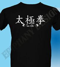 Camiseta Hombre Tamaños más grandes Artes Marciales TAI-CHI 3xl 4xl 5xl