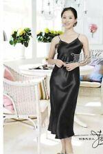 Pure Silk Women   Nightgown Sleepwear Nightes Solid Size 2 6 10