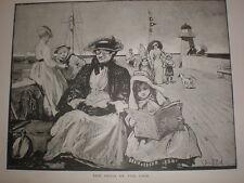 El Peris del muelle John R Reid impresión 1894