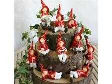 Glückswichtel rot Zwerge  Wichtel Garten Beet Dekoration Tangoo