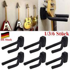 1~ 6x Gitarrenhalter Wandhalter Gitarrenwandhalter Wand Halterung Ständer Stativ