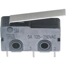 1-3 Stück Miniatur Mikroschalter Zippy 5AAC @ 250VAC Printanschlüsse Flachhebel