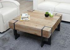Couchtisch HWC-A15, Wohnzimmertisch, Tanne Holz rustikal massiv