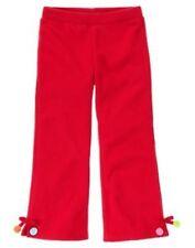 GYMBOREE COZY CUTIE RED DANGLE MICROFLEECE PANTS 3 4 5 6 7 8 9 10 12 NWT