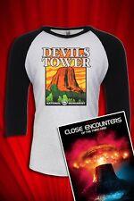 Devil's Tower Vintage 1980s Tourist Tee T-SHIRT FREE SHIP USA Close Encounters