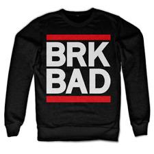 Felpa Breaking Bad - BRK BAD Sweatshirt maglia maniche lunghe Uomo by Hybris