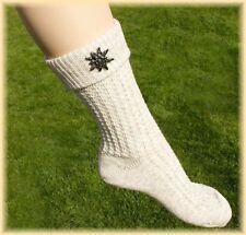 Landhausmode Damen Trachten - Socken mit Edelweiß
