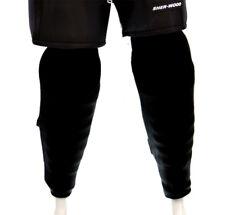 Ice Hockey Socks - BLACK shin pad socks, leg socks