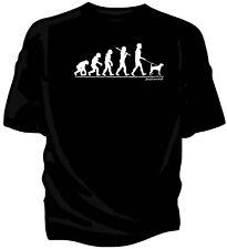 Evoluzione dell'Uomo, Foxhound per Cane T-shirt.