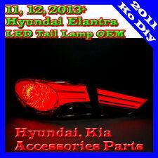 NEW LED Tail Lamp Light Assy For 11, 12~2015+ Hyundai Elantra Avante MD Genuine