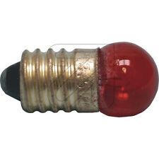 10 x Bombilla E10 Lámpara de Globo 10 piezas 3,5vV / 0,2aA Rojo Amarillo Verde