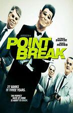 POINT BREAK Movie Poster Action Keanu Reeves Patrick Swayze