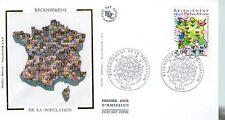 FDC - FRANCE 3223 - RECENSEMENT DE LA POPULATION