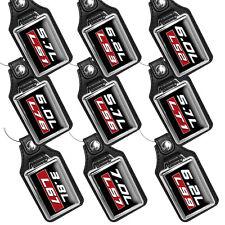 GM Engines LS1, LS3, LS2, L76, LS6, LT1, L67, LS7, L99 Faux Leather Key Rings