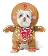 Gingerbread Pup Christmas Dog Pet Costume