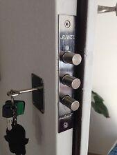 Mul t lock deadbolt door Lock 3 bolts High Security Safe Keys Locksmith mortise