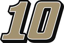 NEW FOR 2018 #10 Aric Almirola Racing Sticker Decal - SM thru XL - Various color