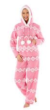 i-Smalls Women's Kirsten 2 Piece Zip Through Hooded Twosie Loungewear