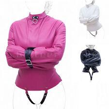Harness FANCY PU Leather Straight Jacket Halloween Costume Restraint Cosplay