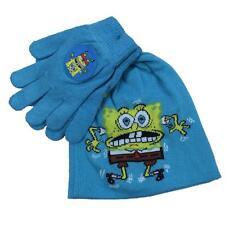 Set Winter Kind Spongebob Hut Handschuhe 09797