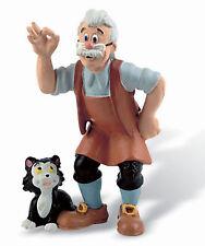 Figurine DISNEY Pinocchio GEPETO 8 cm Neuve