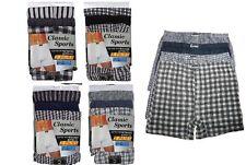 12x ou 6x paires homme carreaux Caleçon Boxer, Boxer Coton S/M/L/XL / 2XL