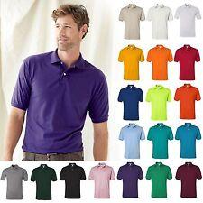 JERZEES Mens Spot Shield 50/50 Cotton/Polyester Jersey Sport Polo Shirt S-5XL