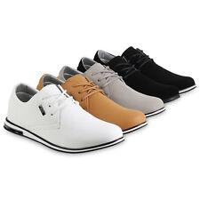 Herren Halbschuhe Schnürer Business Sneaker Schuhe 821937 Mens Special