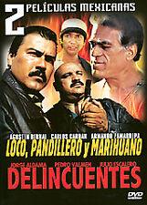 2 Peliculas Mexicanas: Loco, Pandillero DVD