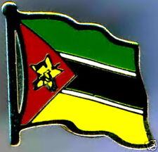 Mozambique Flag Lapel / Hat Pin NEW