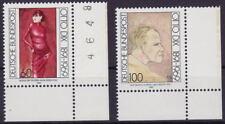 1991 Otto Dix Mi 1572-73 I ** FN 0A Luxus!