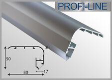 33,00 €/m Treppenstufen Alu Profil Typ Q LED Schiene Tritt Leiste 2m Eckprofil