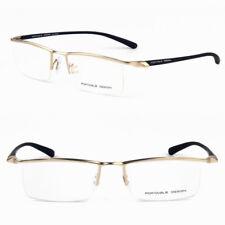 ddb55f9de4 TR90 Flexible marcos de anteojos media sin montura gafas miopía Gafas Rx  capaz