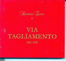 RENATO ZERO VIA TAGLIAMENTO RISTAMPA 2010 2 CD DIGIPACK