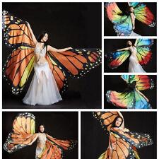 New Butterfly wings dress Belly Dance Costume Isis Wings Fancy Dance Wear Props