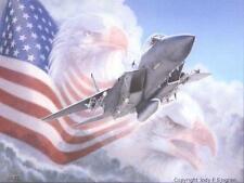 """Metaphor III: With Wings Like Eagles"" Jody Sjogren F-15 Eagle Print"