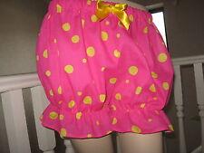 Nuevo Cool Festival Rosa Amarillo Spot Corto Bragas Pantalones fiesta Lolita Rock