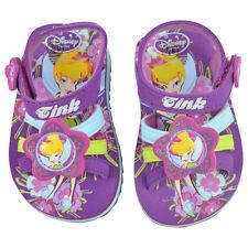 Disney Tinkerbell Toddler BRS Tink Floral Girls  Strap Sandals