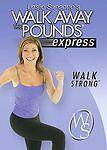 NEW - Leslie Sansone - Walk Away the Pounds Express: Walk Strong (DVD,) SEALED