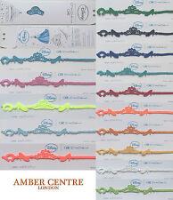 Kids Disney Cinderella Colour Variety Genuine Italian Made Cruciani Bracelet