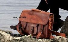 Men's Genuine Leather Messenger Shoulder Bag Macbook Laptop Surface Case Tote