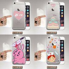 Cover per,Iphone,CRYBABY,fans,silicone,morbido,custodia,pop,TRASPARENTE,pastels