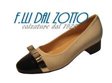 DONNA SOFT art. 7262 DECOLTE' col. BIANCO PUNTALE VERNICE col. BLU