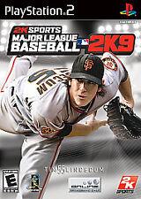 Major League Baseball 2K9 (Sony PlayStation 2, 2009) Disc Only-Free Ship