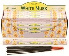 Tulasi  'White Musk' Incense Sticks  - Insence! (T73)