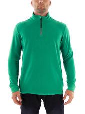 Brunotti Fleece Upper Part Functional Sweater Tenno Green Half-Zip Insulating